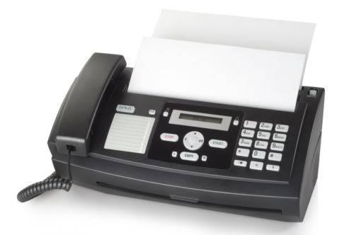 The Trusty Fax Machine Faxed Head